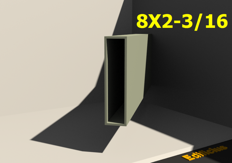 3D Profile - 8X2-3/16 - ACCA software