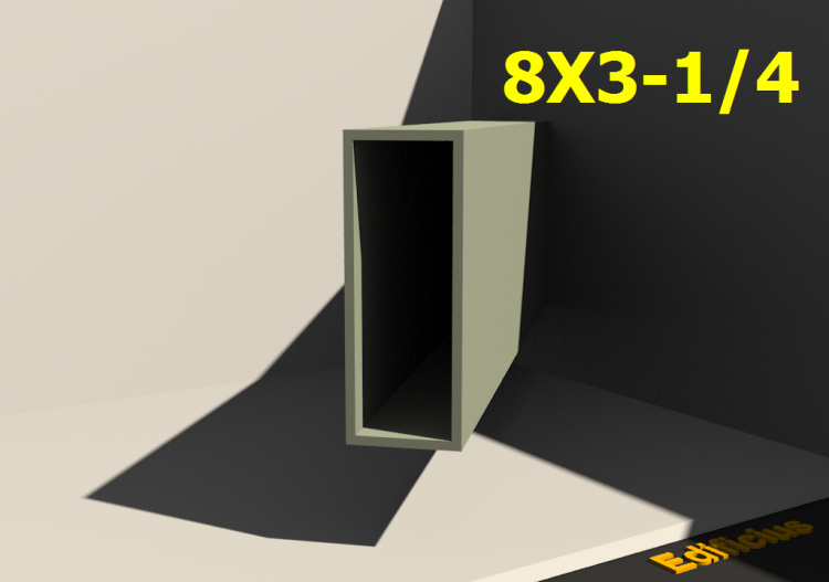 3D Profiles - 8X3-1/4 - ACCA software