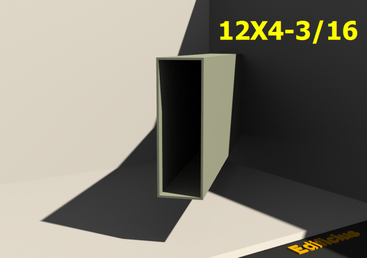 3D Profile - 12X4-3/16 - ACCA software