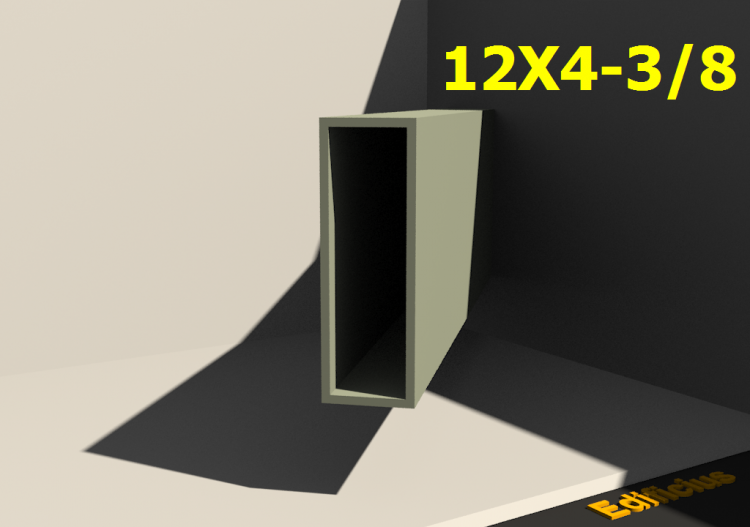 3D Profiles - 12X4-3/8 - ACCA software