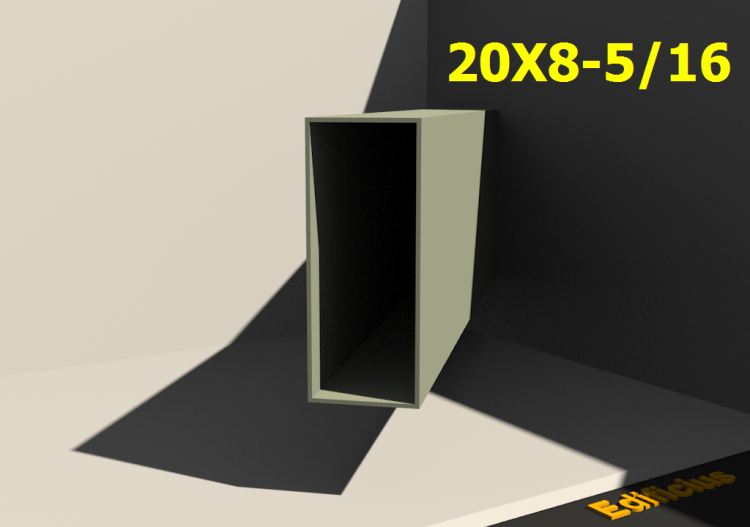 3D Profiles - 20X8-5/16 - ACCA software