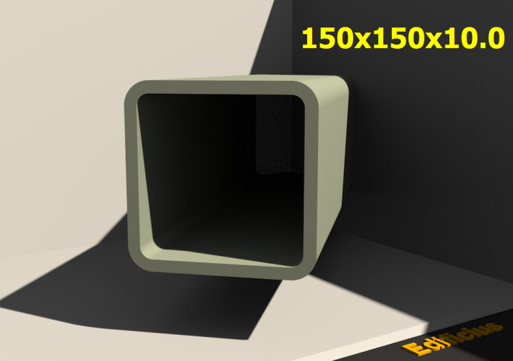 Perfilados 3D - 150x150x10.0 - ACCA software