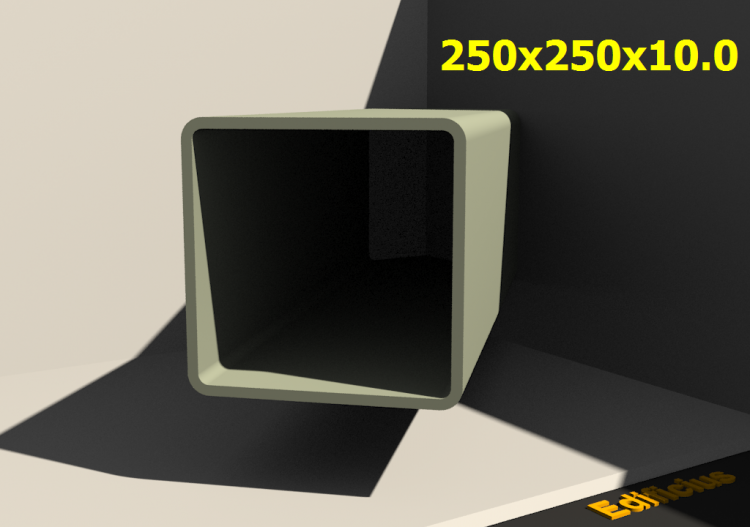 3D Profiles - 250x250x10.0 - ACCA software