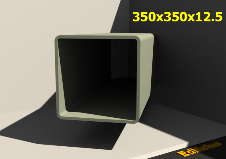 Perfilados 3D - 350x350x12.5 - ACCA software