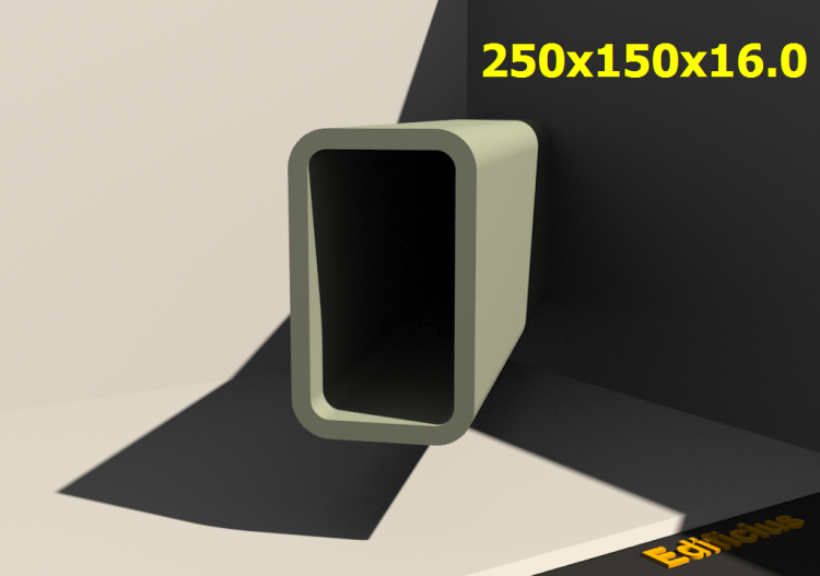 Perfilados 3D - 250x150x16.0 - ACCA software