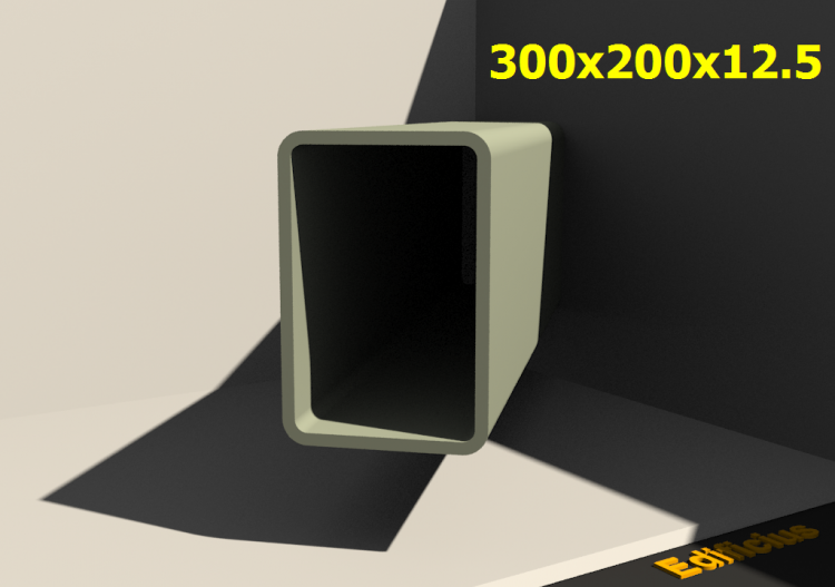 3D Profiles - 300x200x12.5 - ACCA software
