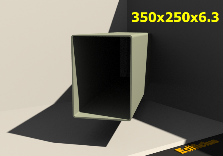 Perfilados 3D - 350x250x6.3 - ACCA software