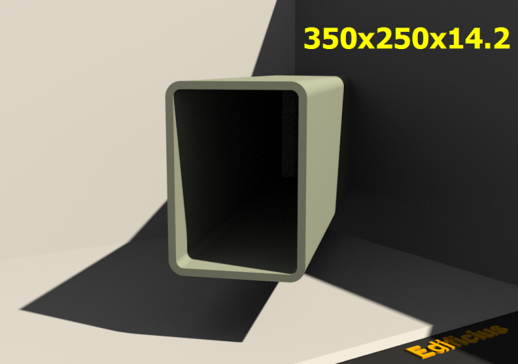 3D Profile - 350x250x14.2 - ACCA software