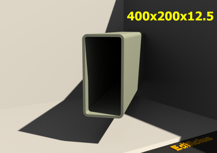3D Profile - 400x200x12.5 - ACCA software