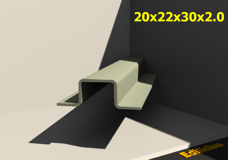 3D Profiles - 20x22x30x2.0 - ACCA software