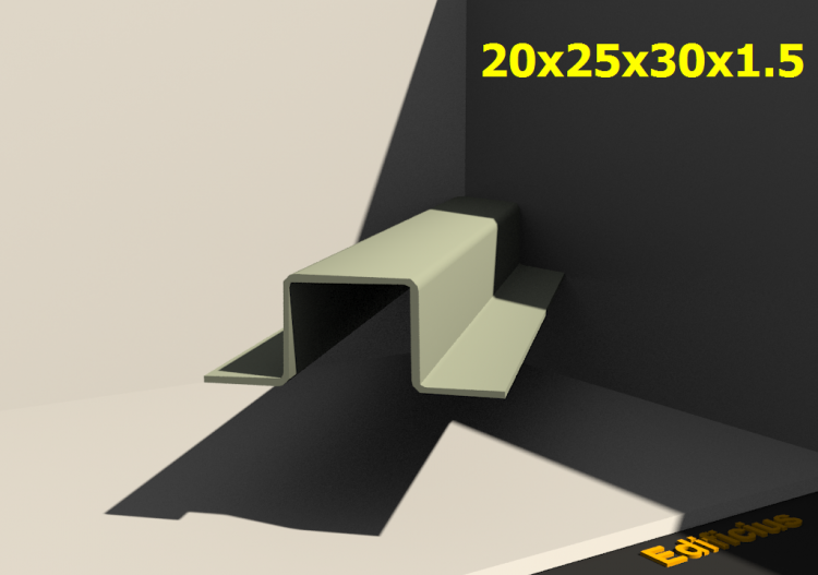 Perfilados 3D - 20x25x30x1.5 - ACCA software
