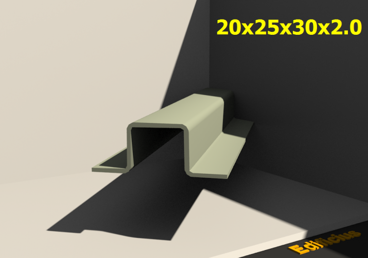 Perfilados 3D - 20x25x30x2.0 - ACCA software