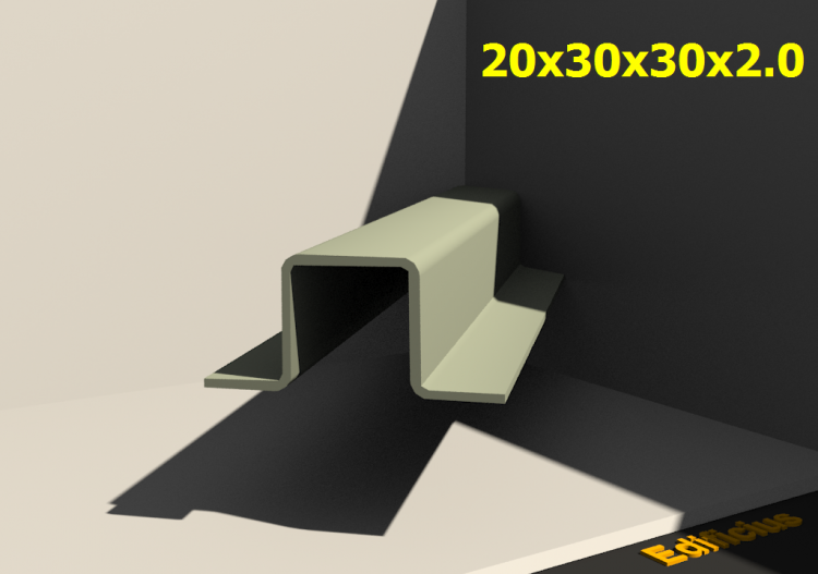 3D Profiles - 20x30x30x2.0 - ACCA software