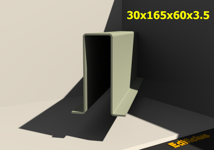 3D Profiles - 30x165x60x3.5 - ACCA software
