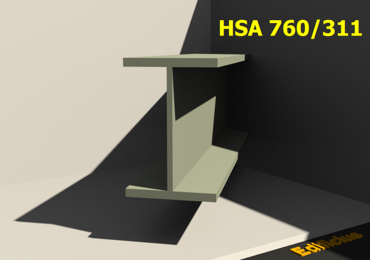 Welded Profiles 3D - HSA 760/311 - ACCA software