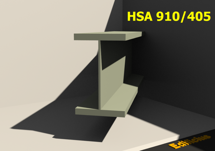 Welded Profiles 3D - HSA 910/405 - ACCA software