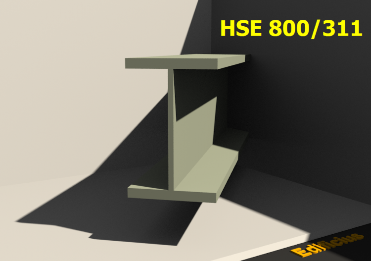 Welded Profiles 3D - HSE 800/311 - ACCA software