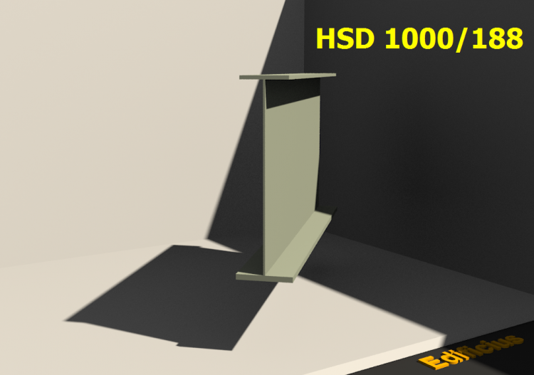 Welded Profiles 3D - HSD 1000/188 - ACCA software