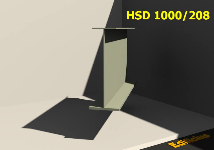 Welded Profiles 3D - HSD 1000/208 - ACCA software