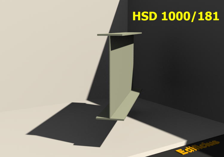 Welded Profiles 3D - HSD 1000/181 - ACCA software