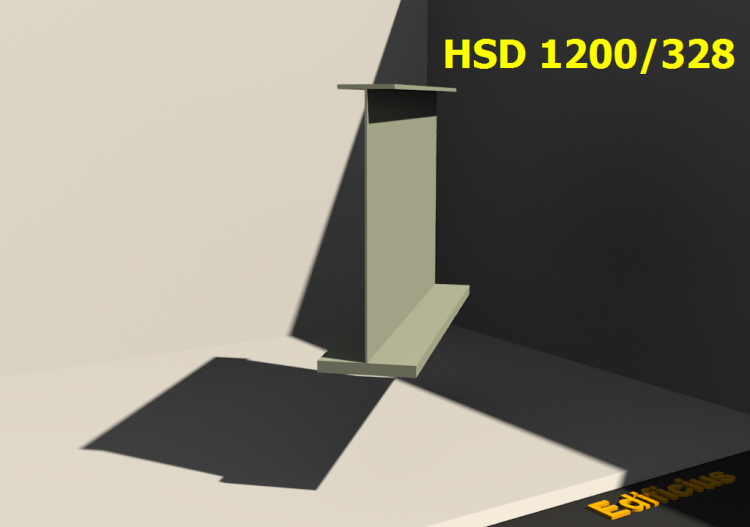 Welded Profiles 3D - HSD 1200/328 - ACCA software