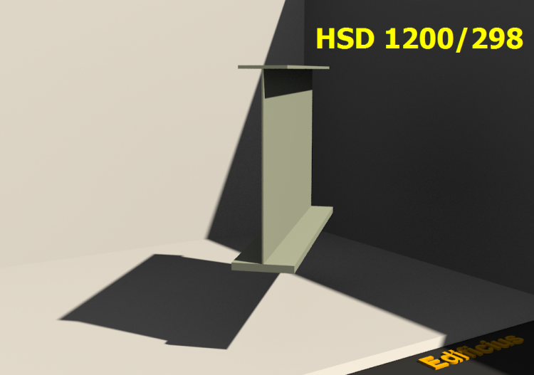 Welded Profiles 3D - HSD 1200/298 - ACCA software