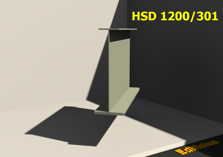 Perfiles soldados 3D - HSD 1200/301 - ACCA software