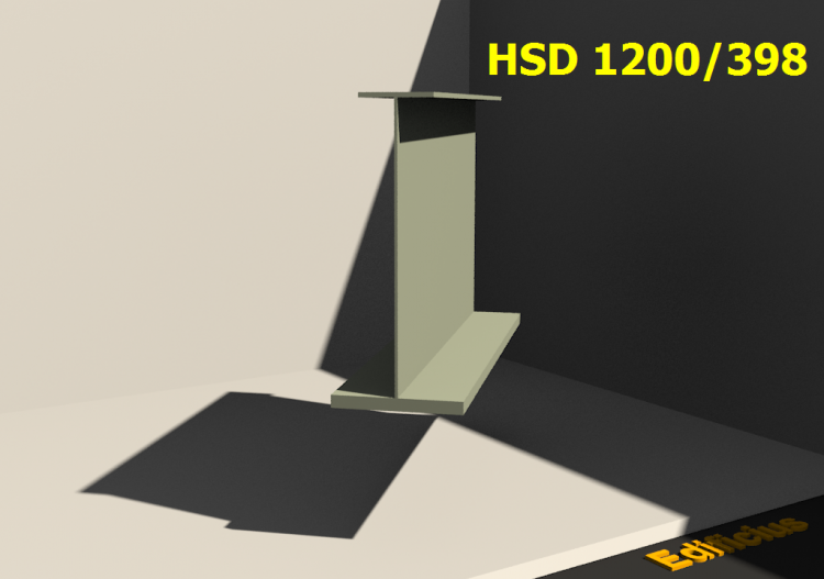 Welded Profiles 3D - HSD 1200/398 - ACCA software