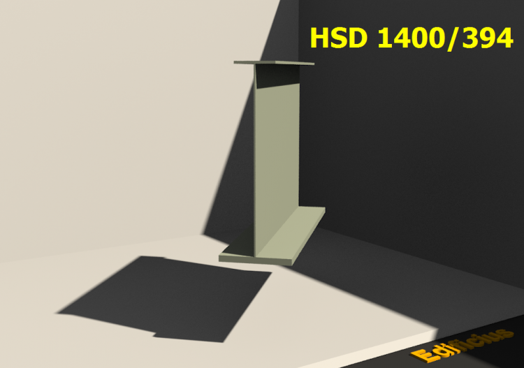 Welded Profiles 3D - HSD 1400/394 - ACCA software
