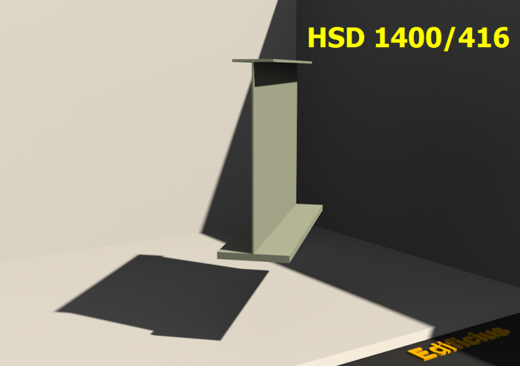 Perfiles soldados 3D - HSD 1400/416 - ACCA software
