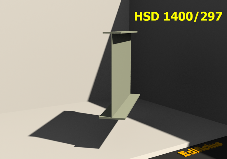 Welded Profiles 3D - HSD 1400/297 - ACCA software