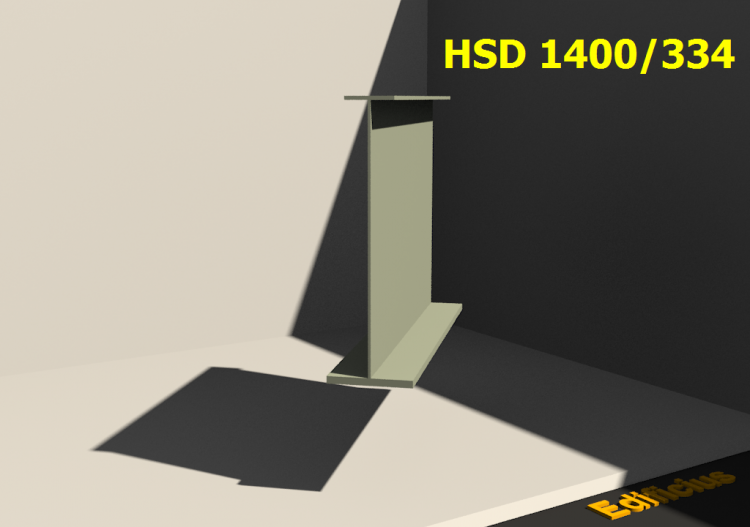Perfiles soldados 3D - HSD 1400/334 - ACCA software