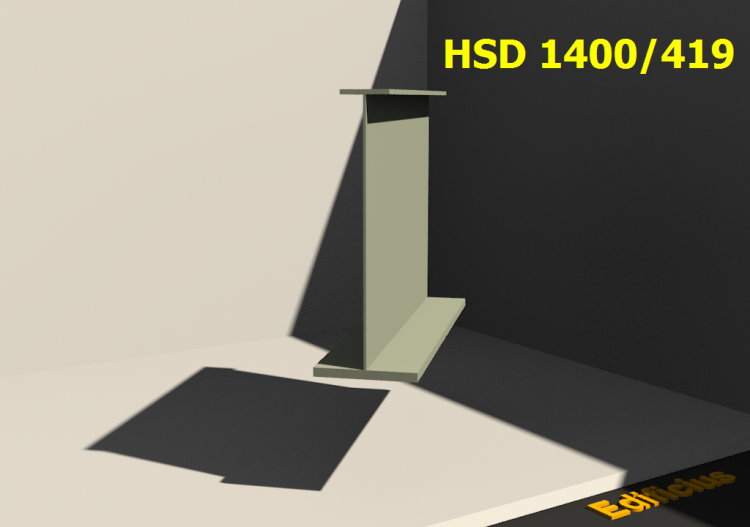Welded Profiles 3D - HSD 1400/419 - ACCA software