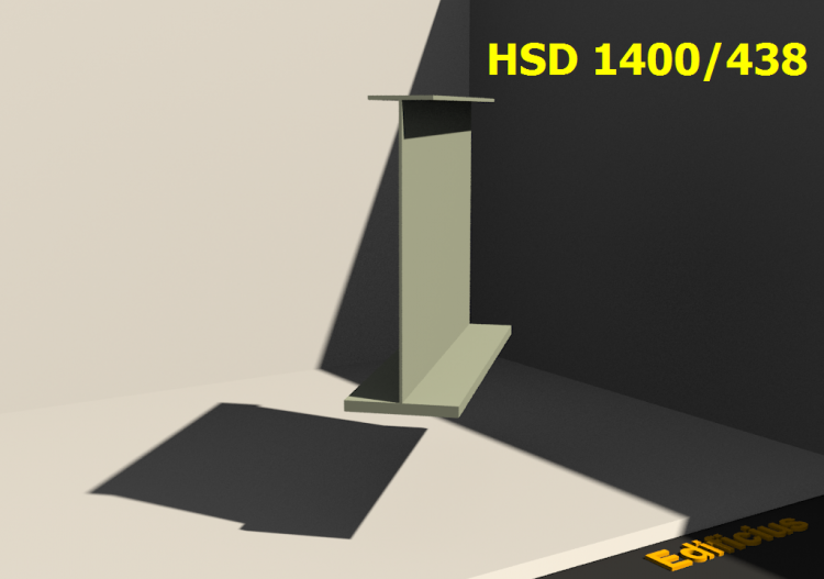 Welded Profiles 3D - HSD 1400/438 - ACCA software